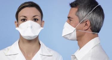 Μάσκες  χημειοπροστασίας με βαλβίδα και φίλτρο ffp3